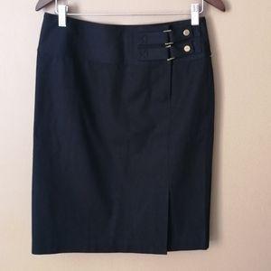 Lauren by Ralph Lauren black mini skirt